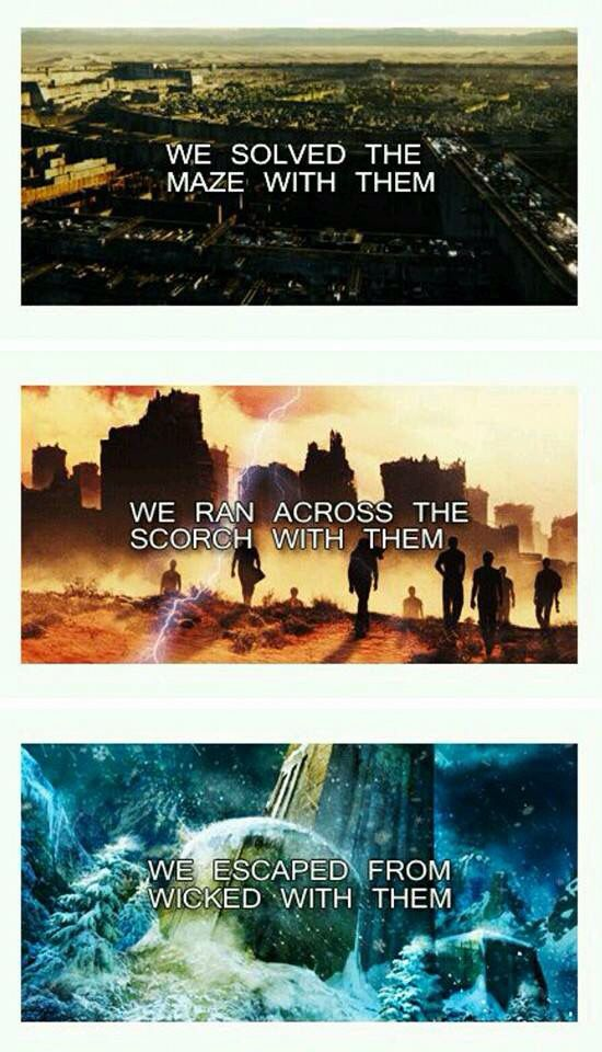 Nope, I died with Newt.