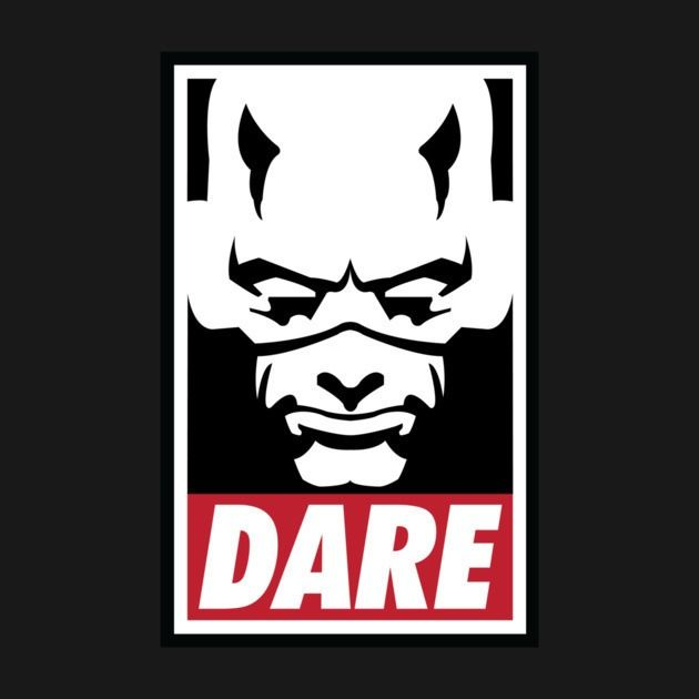 Check out this awesome 'Dare' design on TeePublic!