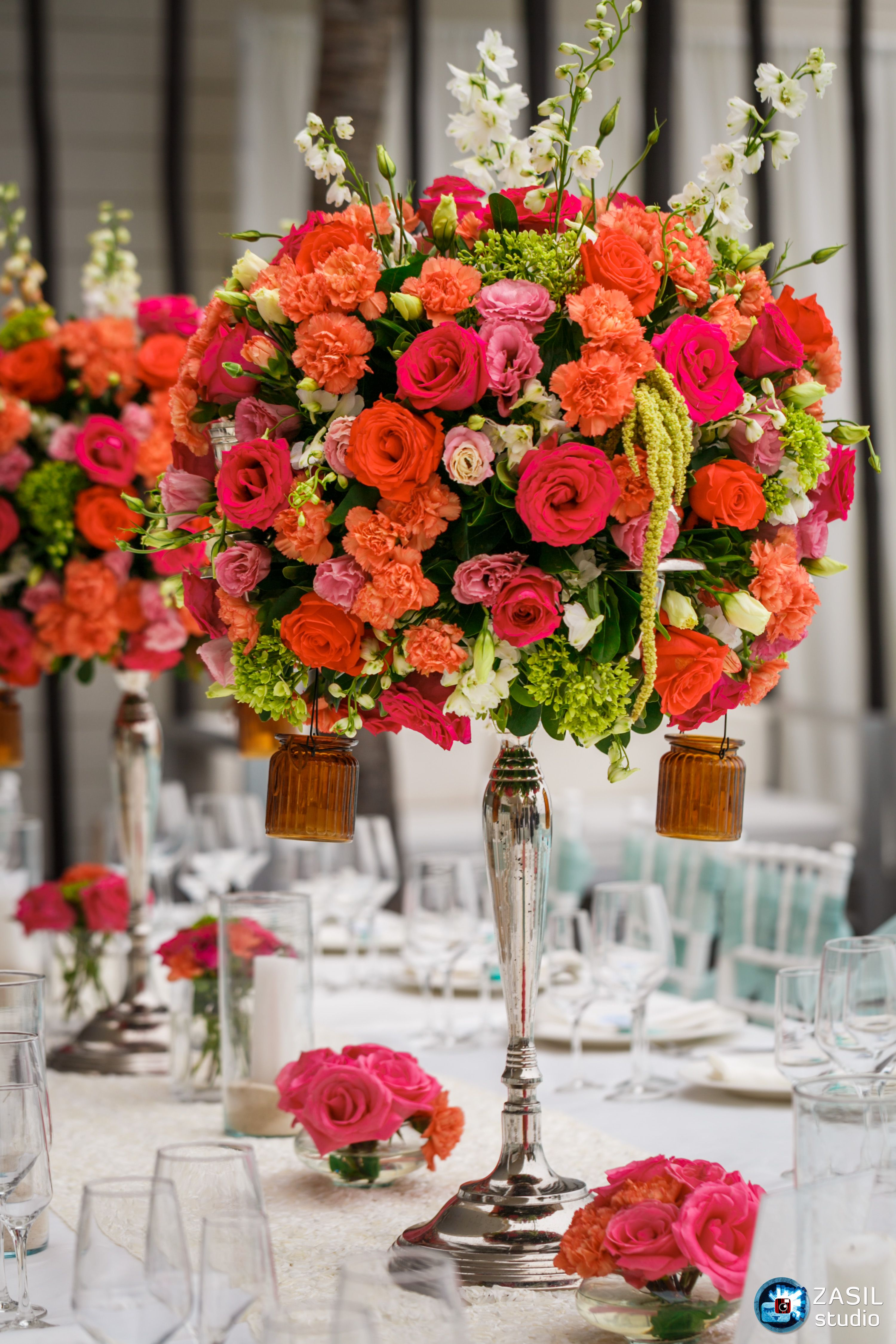 Chandelier centerpieces flower arrangements pinterest discover