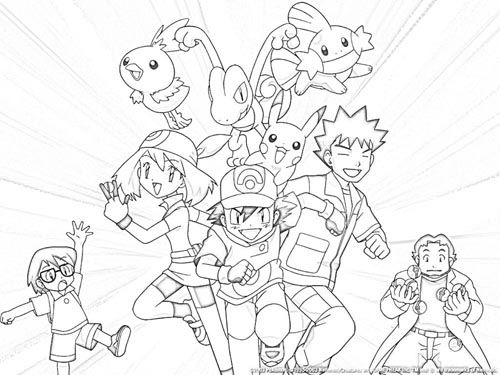 Free Intricate Coloring Pages With Images Pikachu Coloring