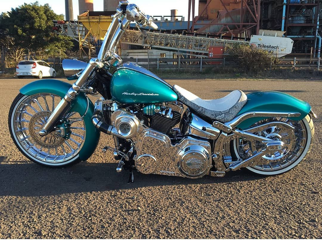 Harleydavidson Bike Coolharley Visitdubai Dubai Uae
