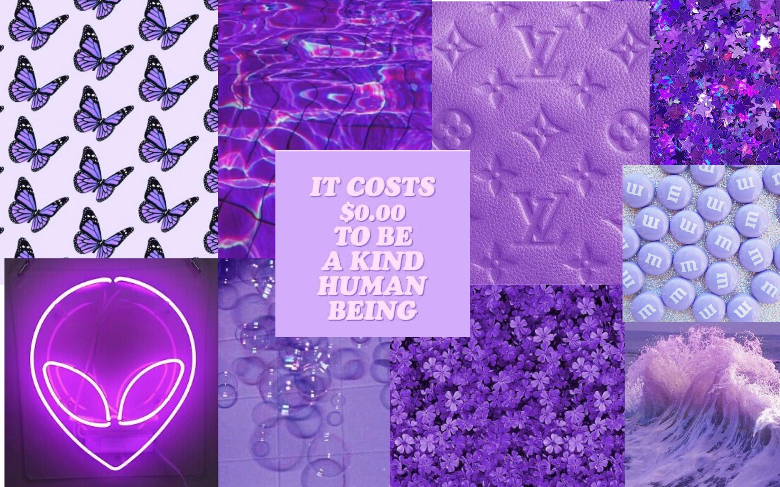 Aesthetic Wallpapers For Laptop Purple