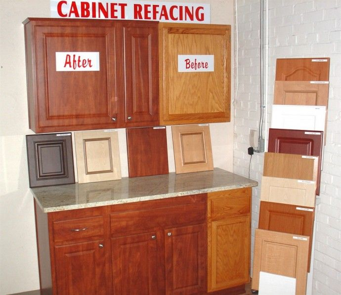 Kitchen Nice Refacing Kitchen Cabinets Before And After With Refacing  Kitchen Cabinets Images With Ikea Doors
