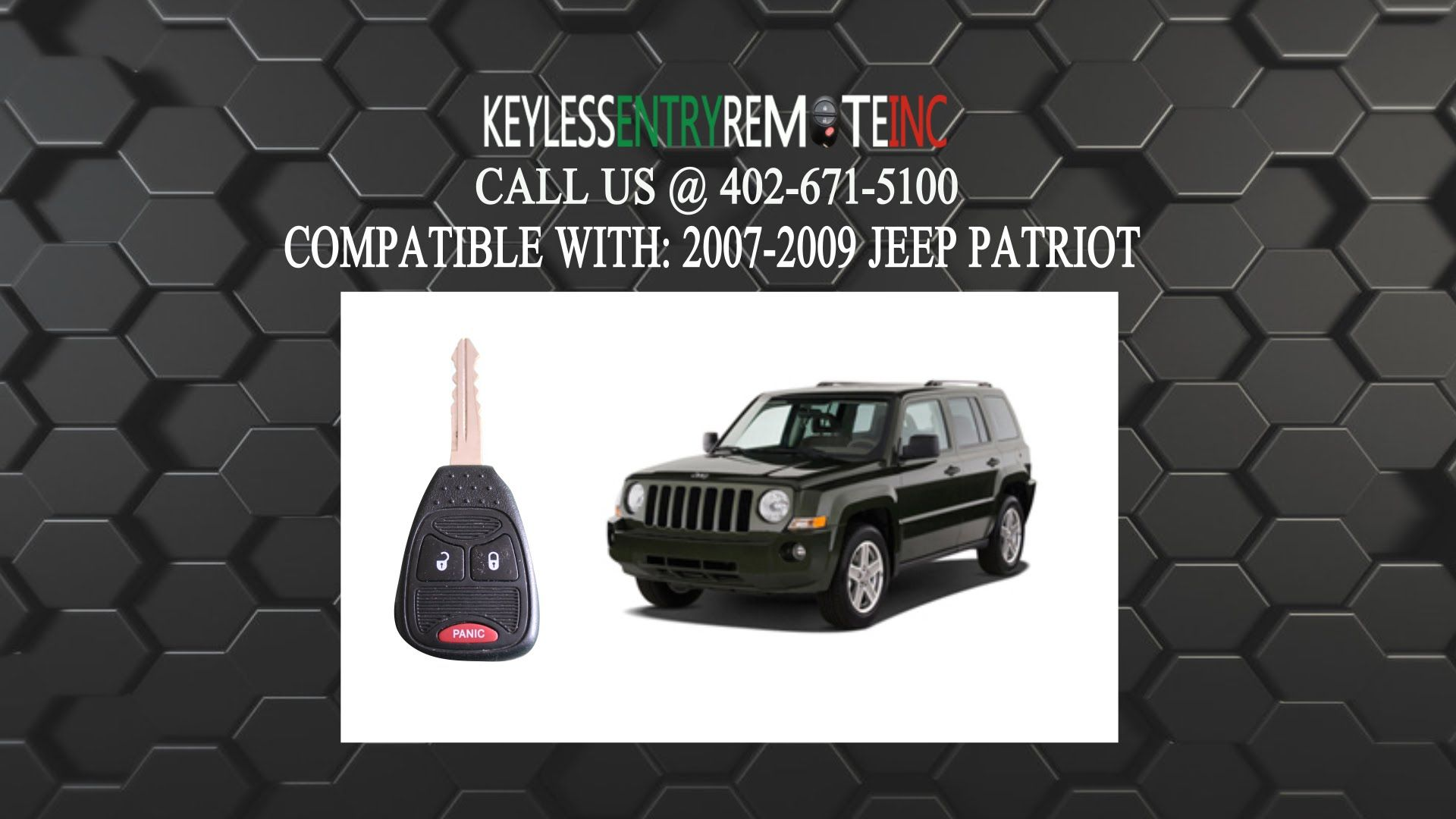 How To Replace Jeep Patriot Key Fob Battery 2007 2012 Jeep Patriot Key Fob Fobs