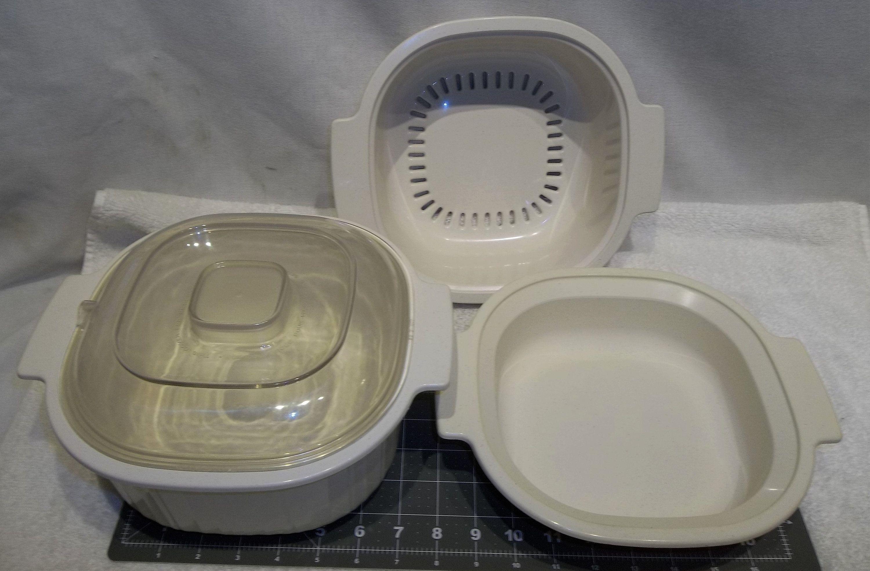 vintage rubbermaid microwave cookware