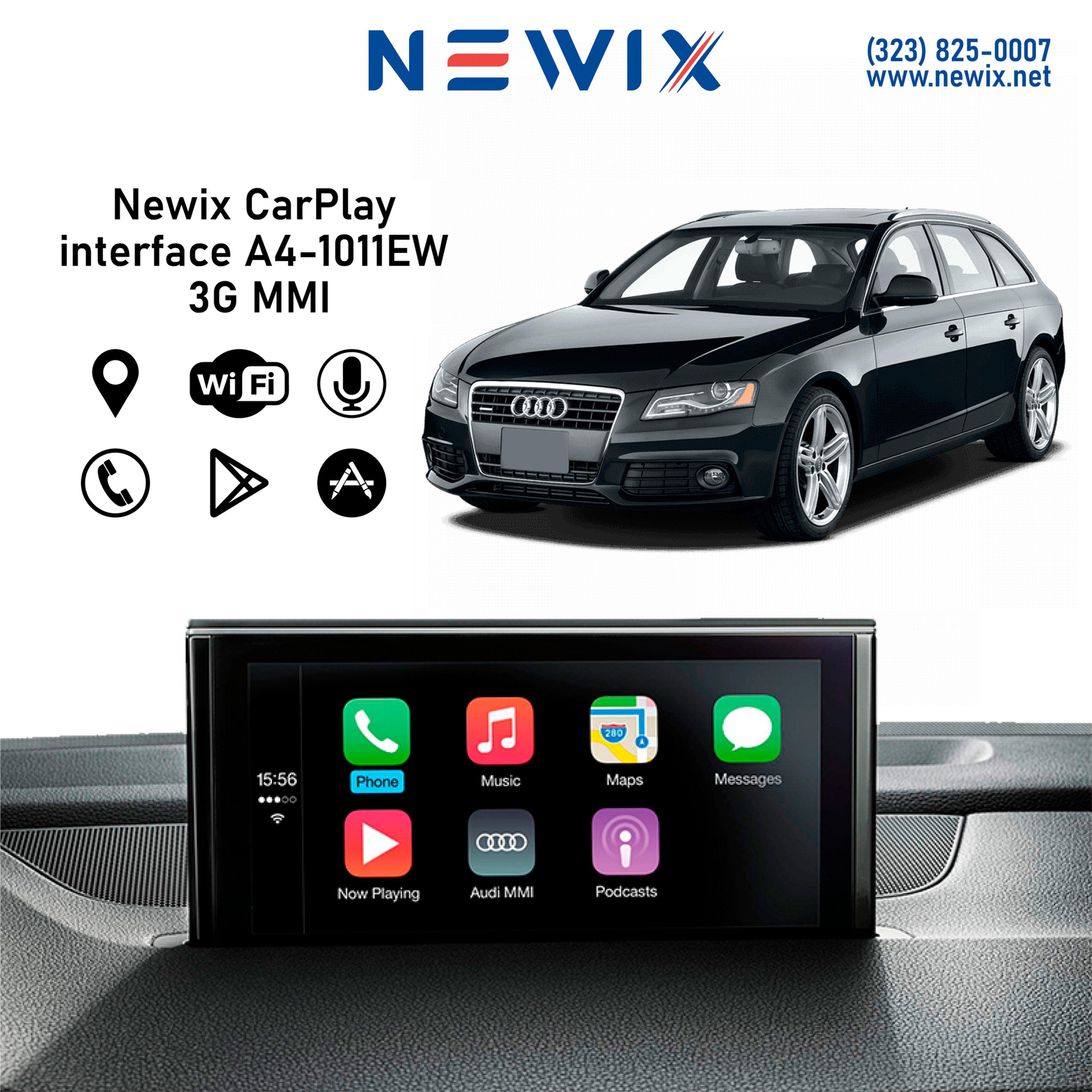 Newix Carplay Interface For Audi A4 3g Mmi 2010 2011 Carplay Audi Audi A3