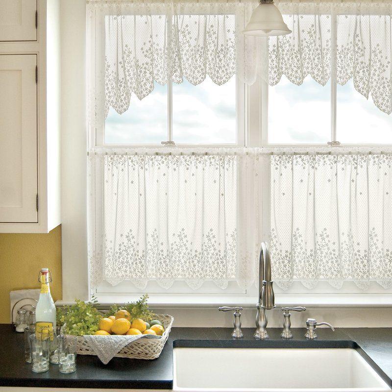 Camela Tier Curtain Kitchen Curtains Shabby Chic Kitchen Curtains
