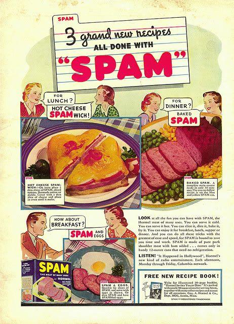 Vintage Kraft Ads