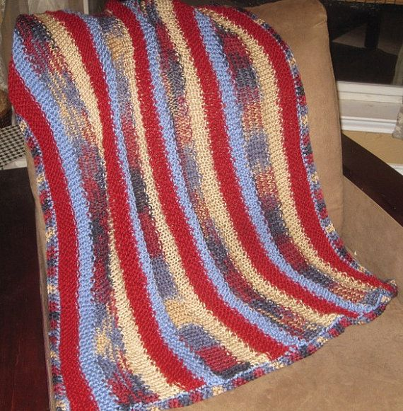 New handmade baby blanket afghan throw Garnet by AfghansbyAmy