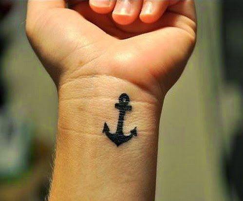 cool anchor tattoos design