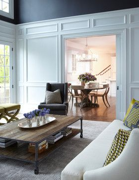 Westbury Long Island New York - transitional - living room - new york - Jacob Snavely Photography