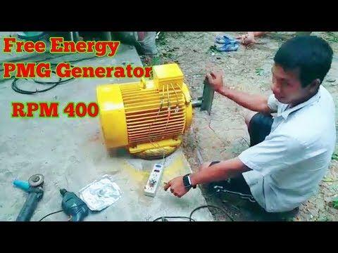 Free Energy PMG Generator high voltage 28kv - YouTube