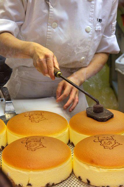 Uncle Rikuro S Cheesecake Osaka Japan T O K Y O Pinterest