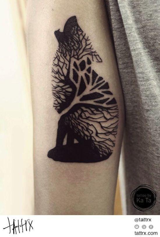 50 Tree Tattoo Ideas For Nature Lovers 6 Body Art Pinterest