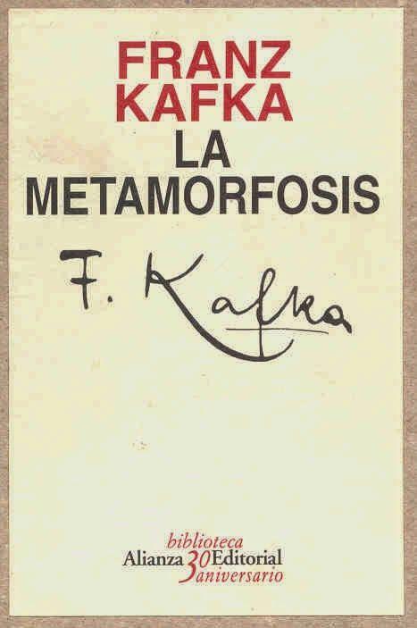 Leer es mi afición: 81 - FRANZ KAFKA - La metamorfosis