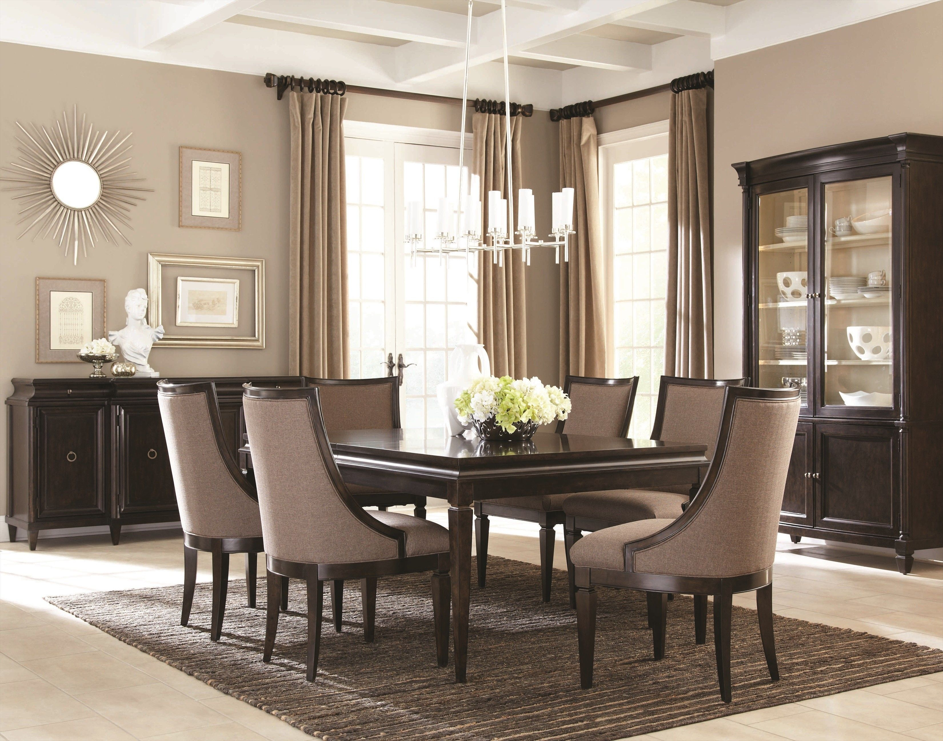 People These Days Usually Have Their Meals In Other Areas Of Their Endearing Formal Contemporary Dining Room Sets Inspiration Design