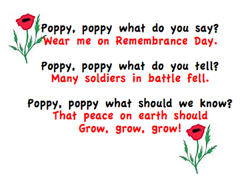 Remembrance Day Activities #remembrancedaycraftsforkids