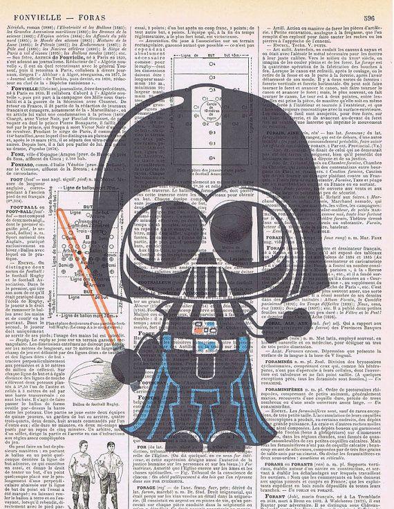 Star WarsDarth por JackieBassettArt en Etsy