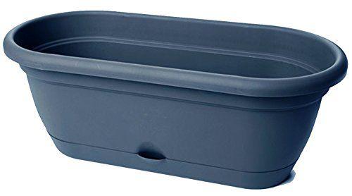 Bloem LWB1800 6 Pack Lucca Self Watering Window Box Planter, 18 Inch,