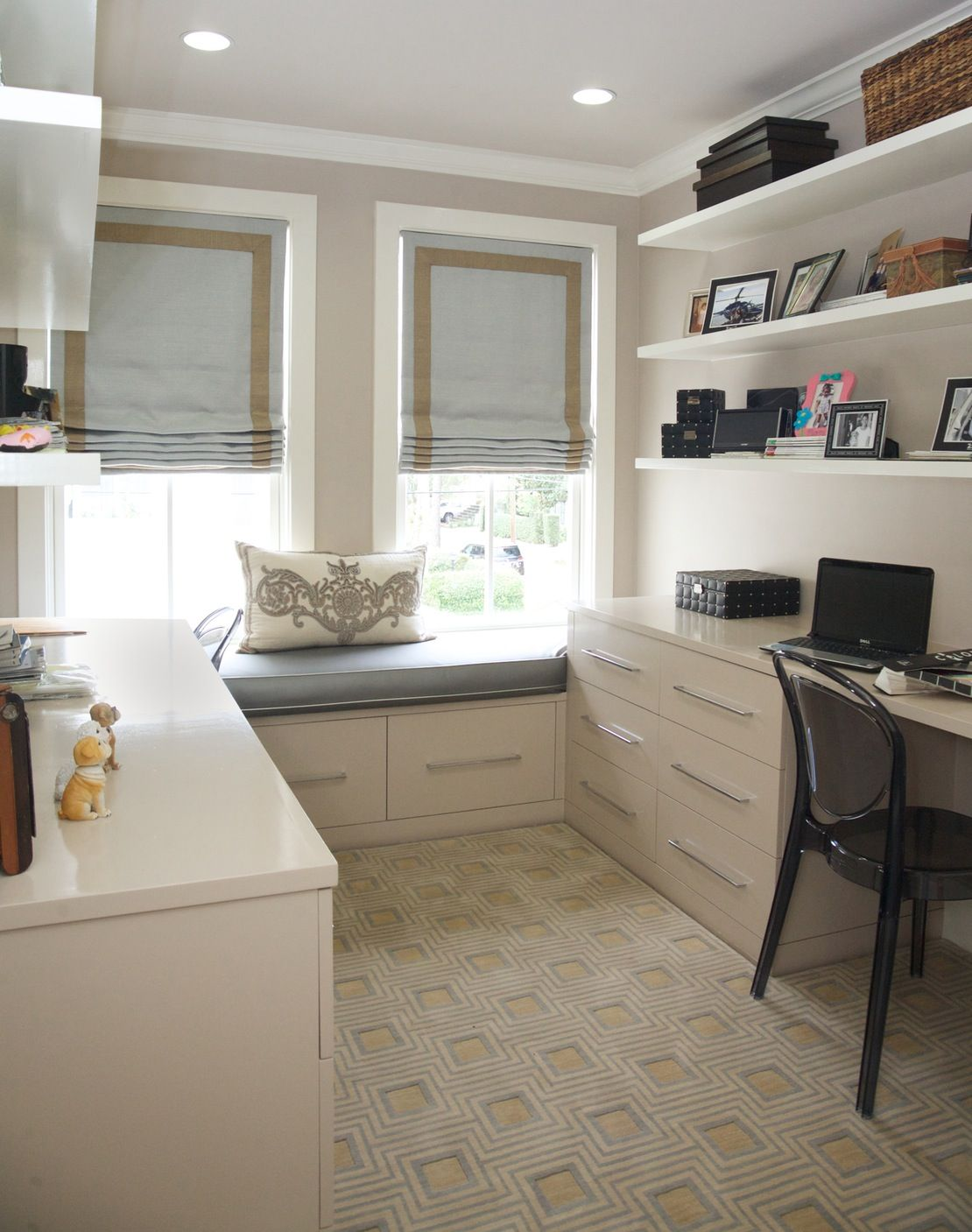 His and Hers Office by Eclectic Home | new house! | Pinterest ... Workspace Office Kitchen Ideas on kitchen microwave ideas, kitchen office organization ideas, kitchen space ideas,