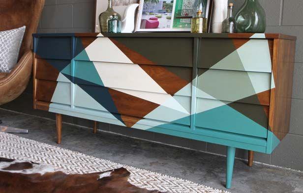 6553255ace75bdb4fe6d523889ff3a06 Painted Geometric Modern Credenza Sideboard on modern sideboard bookshelf, modern sideboard with mirror, modern sideboard kitchen, modern sideboard bar,