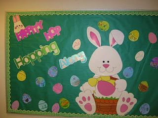 Easter Bulletin Board Easter Classroom Easter Bulletin Boards