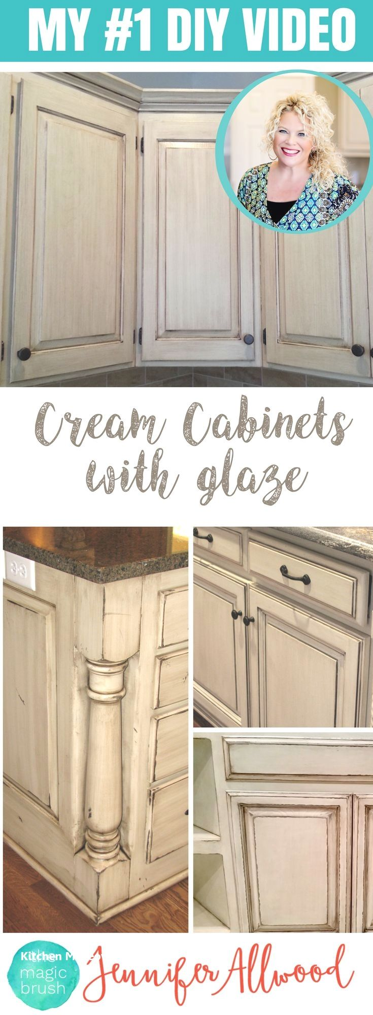12 Amazing And Cheap Ideas For A Kitchen Make Over 3 Shelves And Hooks Shabby Chic Kitchen Chic Kitchen Painting Cabinets