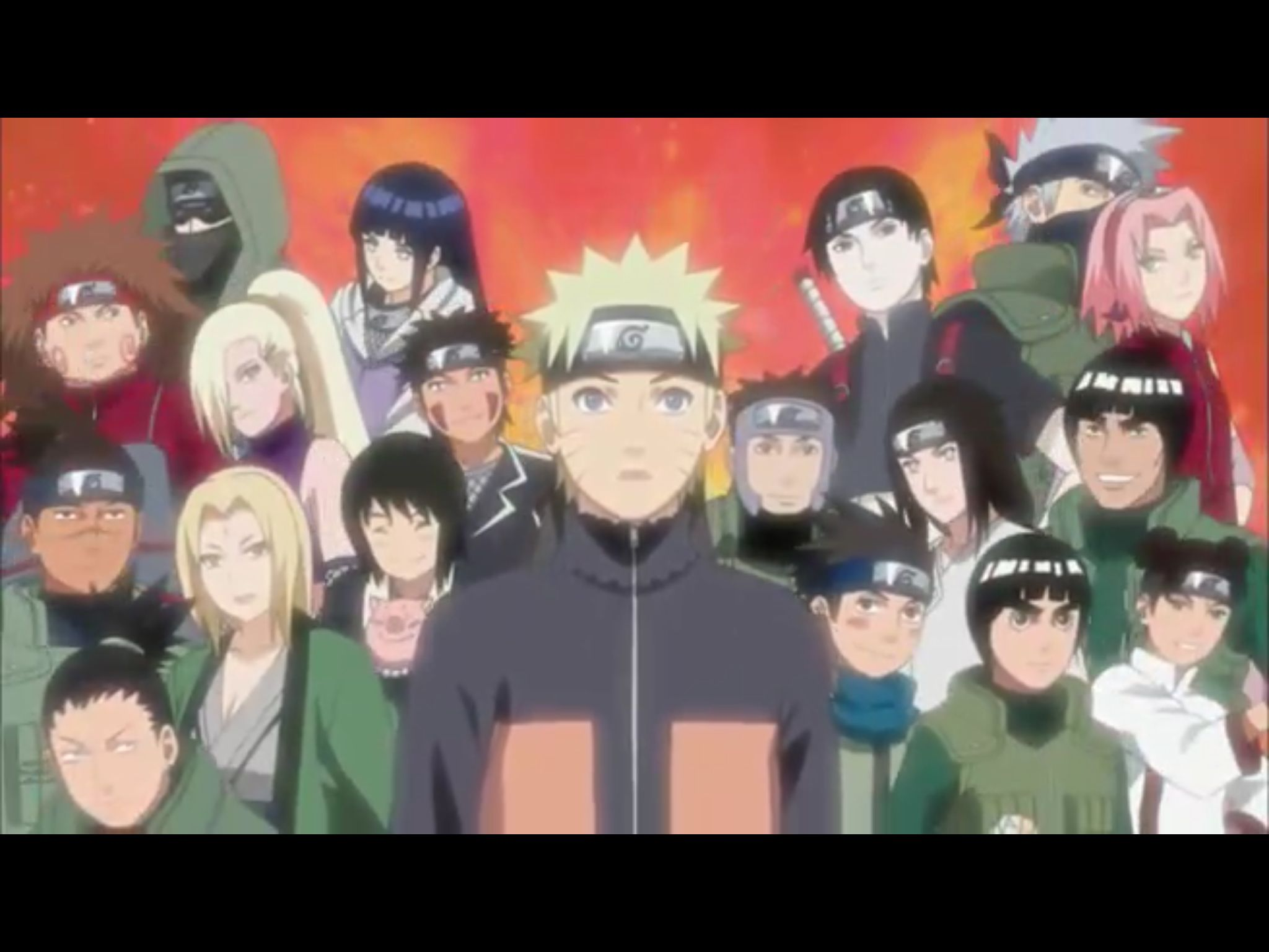 I love Naruto and the many characters of the show