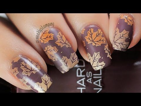 Pastel fall autumn leaves nail art stamping tutorial born pastel fall autumn leaves nail art stamping tutorial born pretty prinsesfo Gallery