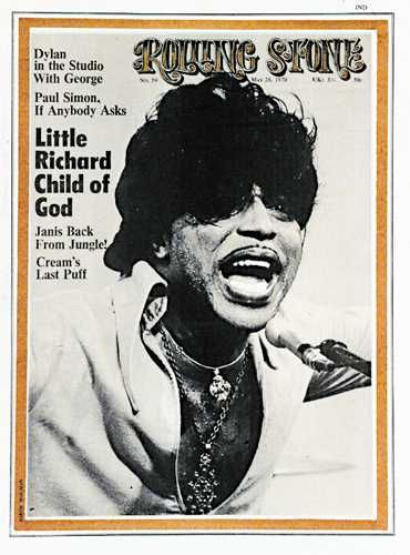 "Little Richard ""Rolling Stone"" cover. I twisted a lot of carpet ..."