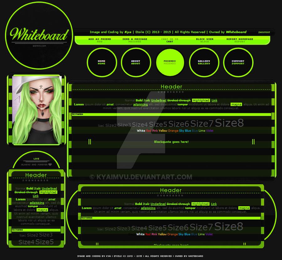 Myfreecam Profile Layouts