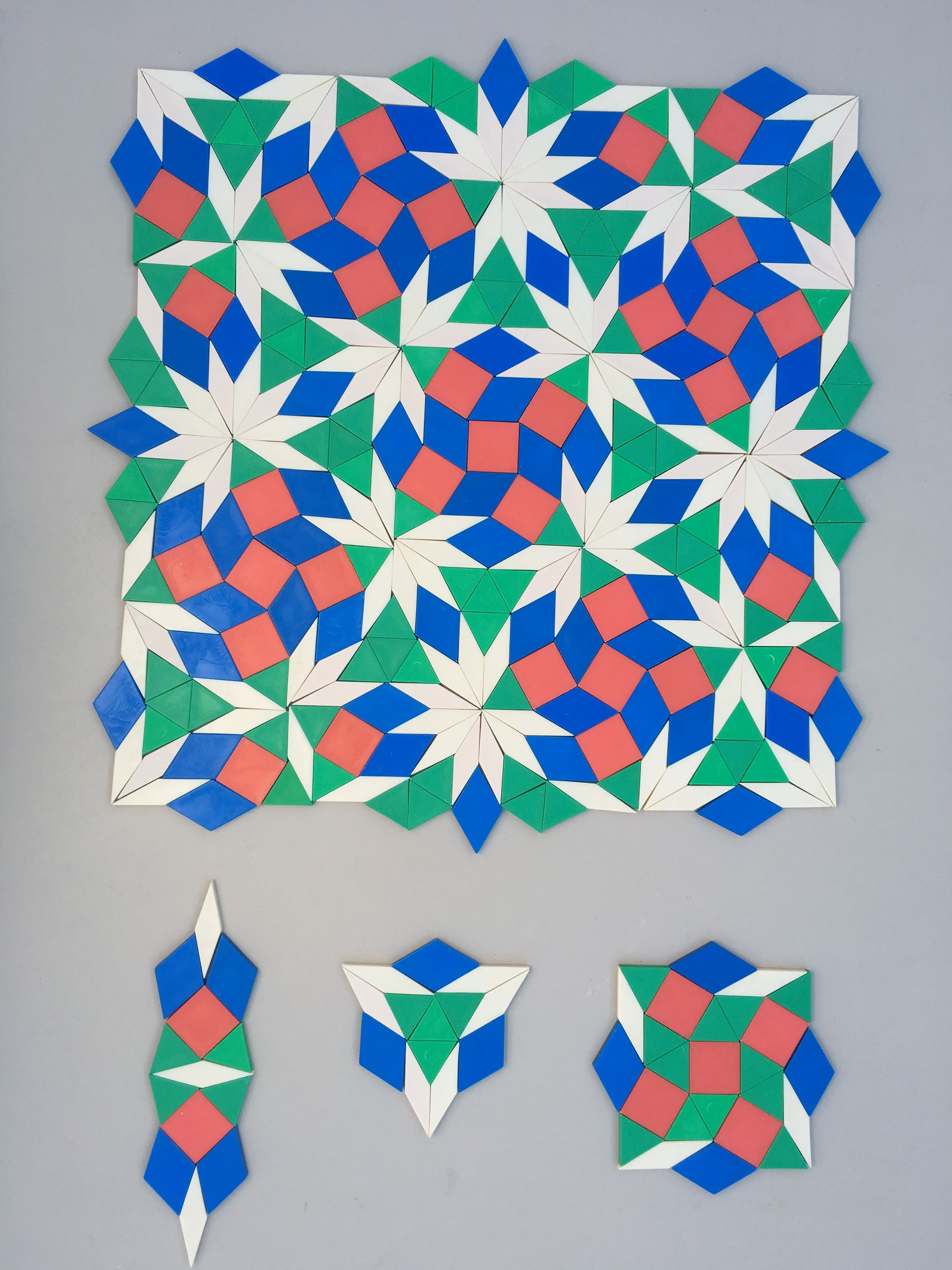 The sixth simple nonperiodic tiling using pattern blocks ...