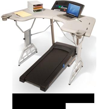 TrekDesk Treadmill Desks: This needs to be in my office.