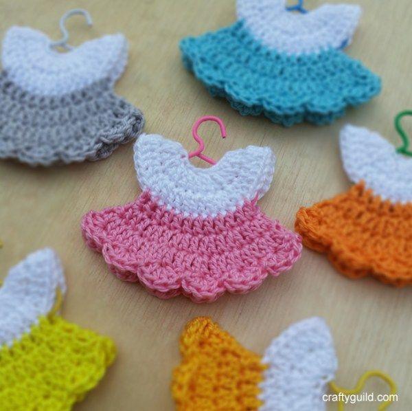 Como tejer un mini vestido a crochet