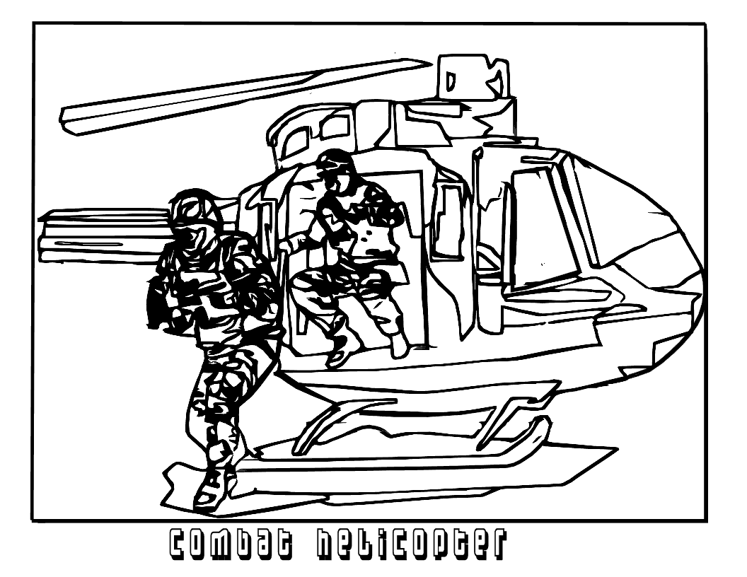 Combat Helicopters Coloring Pages For Kids Xa Printable Helicopters Coloring Pages For Kids