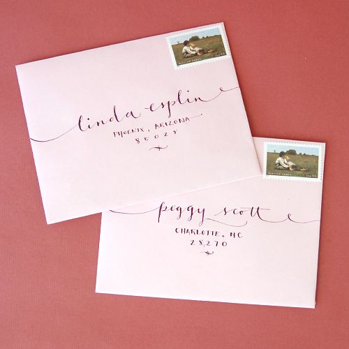 Pretty Pink Script Invitations This Color Matches My Perfectly