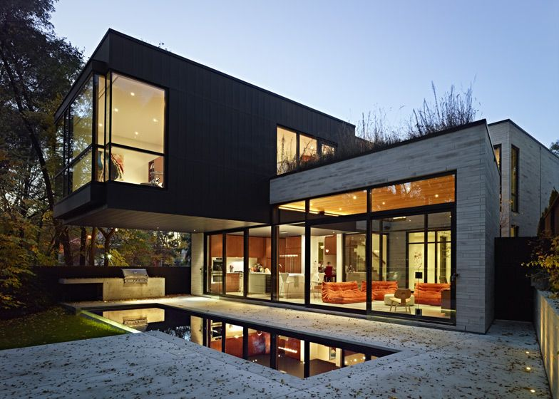 Cedarvale Ravine House in Toronto by Drew Mandel Architects