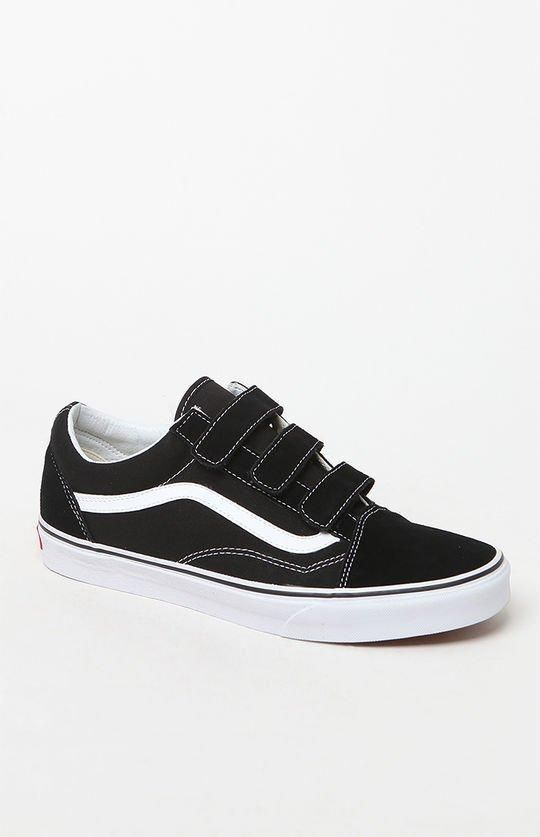 51cdc4012fc350 Vans Old Skool V Pro shoes Black And White Shoes