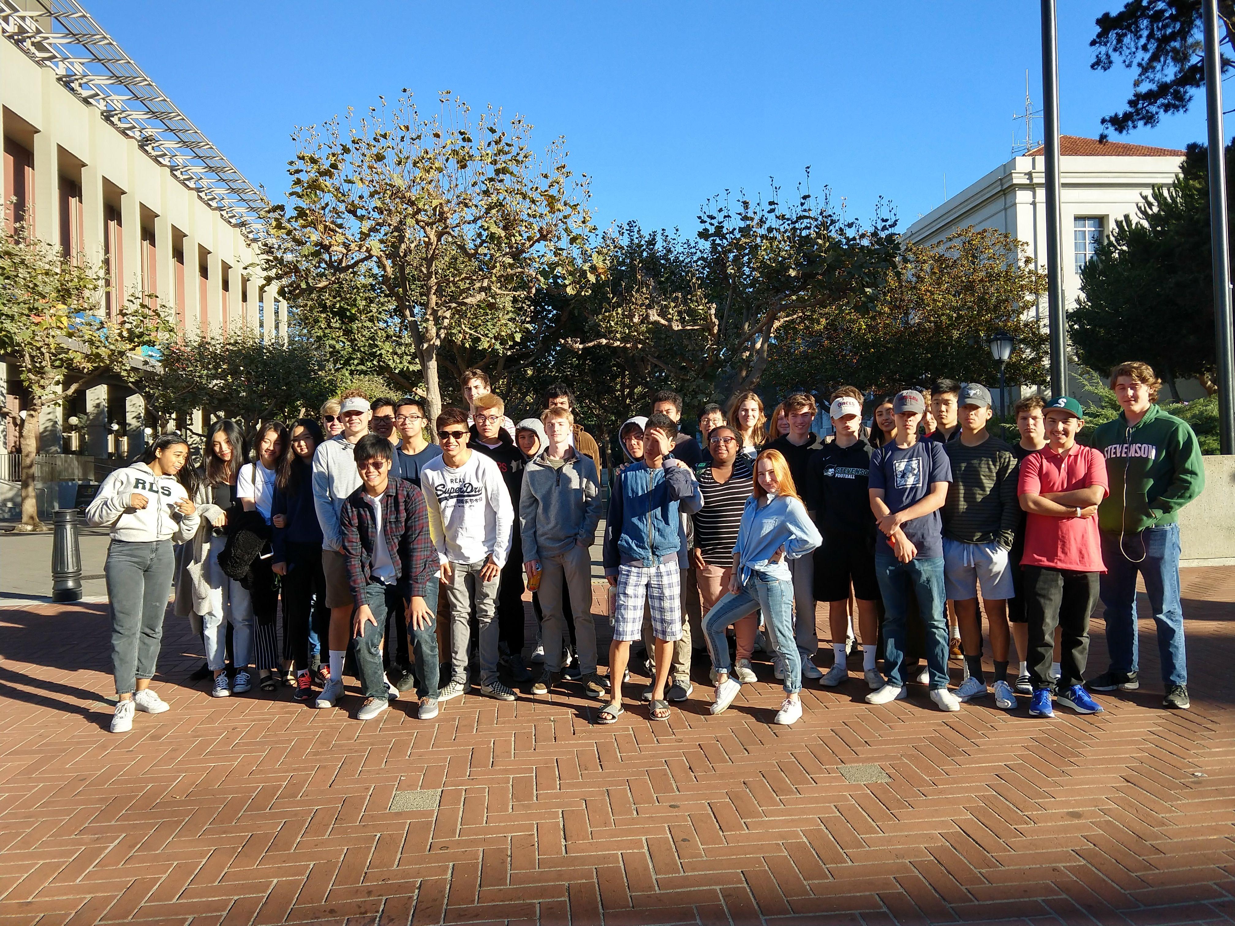 UC Berkeley   Stevenson School Northern California College Tour
