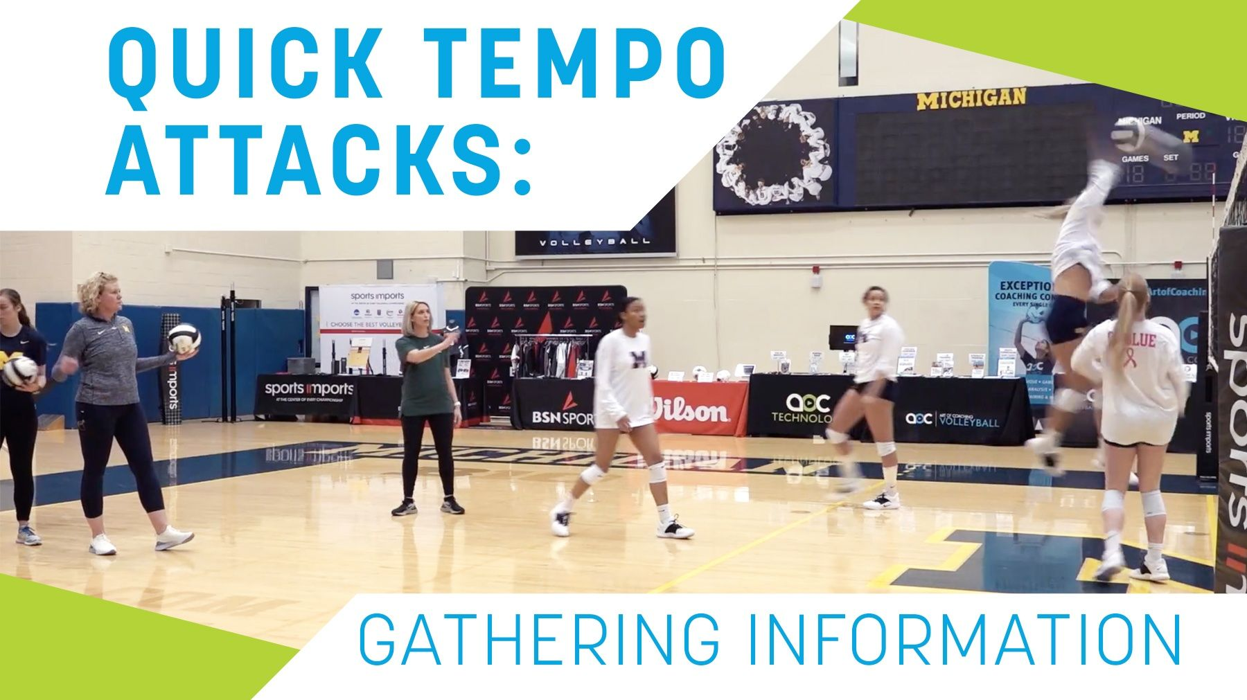 Quick Tempo Attacks Gathering Information The Art Of Coaching Volleyball Coaching Volleyball Volleyball Workouts Volleyball Drills