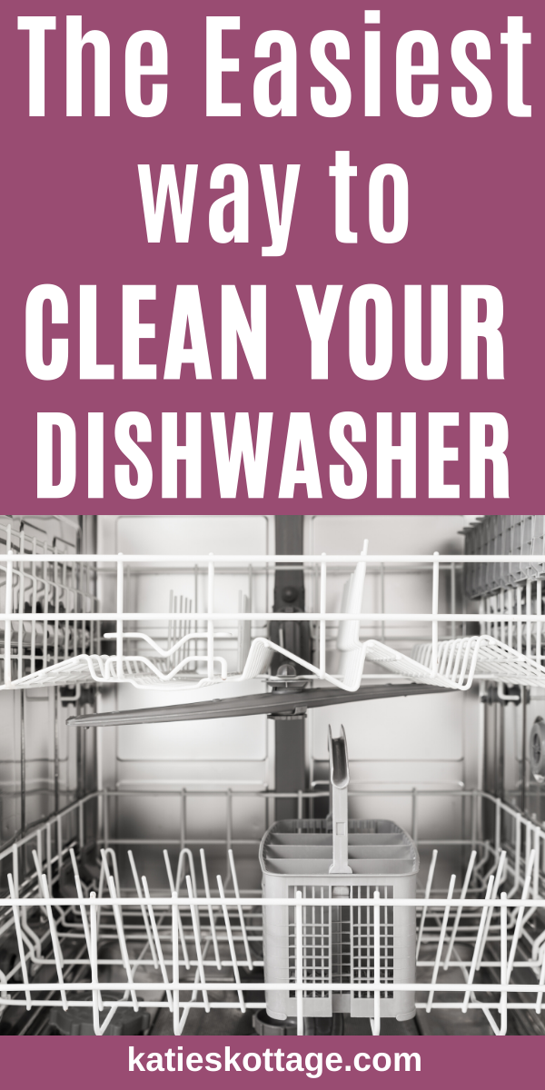 Clean A Dishwasher The Easy Way Cleaning Your Dishwasher