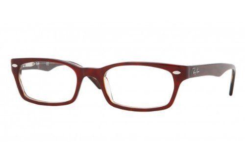 Ray Ban RX5150 Eyeglasses 2023 Red Plastic Frame 48mm Ray-Ban ...