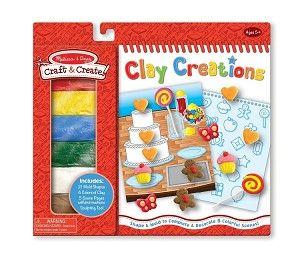 Melissa &  Doug, Craft & Create, Clay Creations,5055