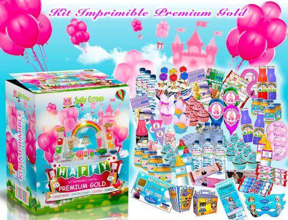 Kit Imprimible Premium Gold por JULYLOVE6 en Etsy