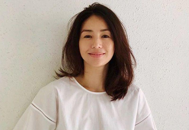 井川遥の髪型 最新 抜け感のある髪型オーダーとアレンジ方法 井川