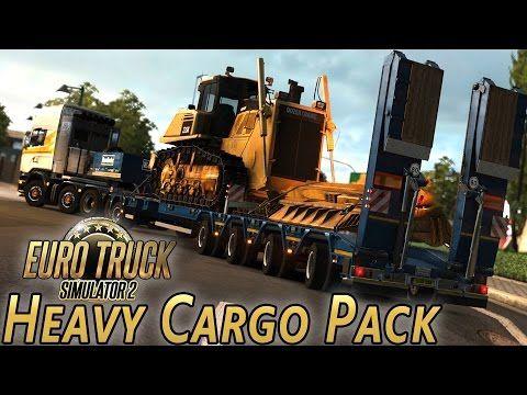 euro truck simulator 2 heavy cargo pack download jeux. Black Bedroom Furniture Sets. Home Design Ideas