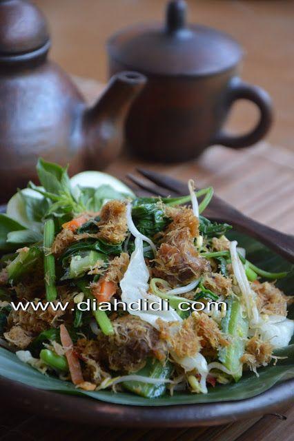 Diah Didi S Kitchen Urap Megono Khas Yogya Bukan Urap Biasa