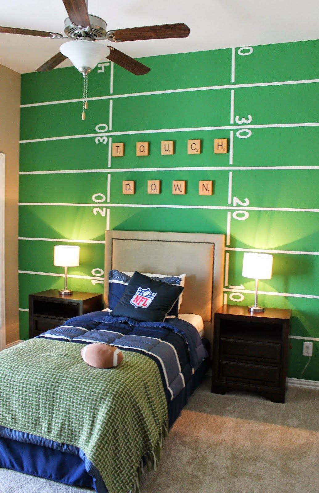 10 Super Fun Themes For Creative Kids Rooms Football