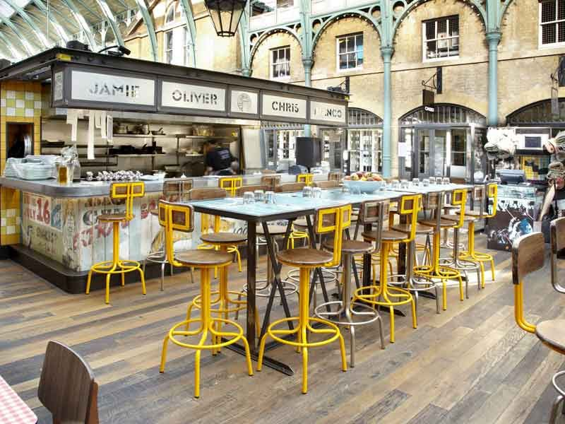 Perfect Andy Thornton Furniture At Jamieu0027s Union Jacks | Restaurant Furniture  Portfolio | Bespoke Refectory Tables
