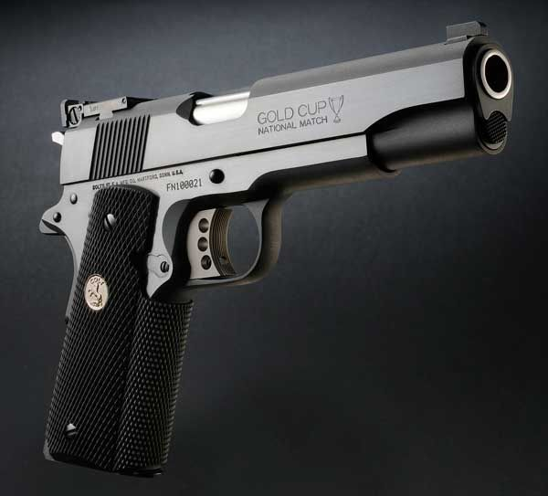 Colt 1911...The other one that fits me best. Can'-t argue with a ...